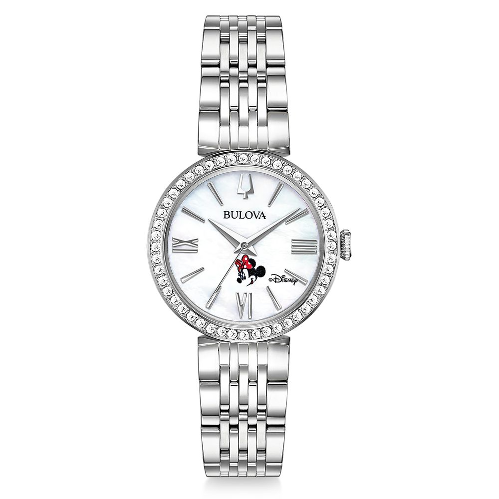 Minnie Mouse Watch and Jewelry Set for Women by Bulova