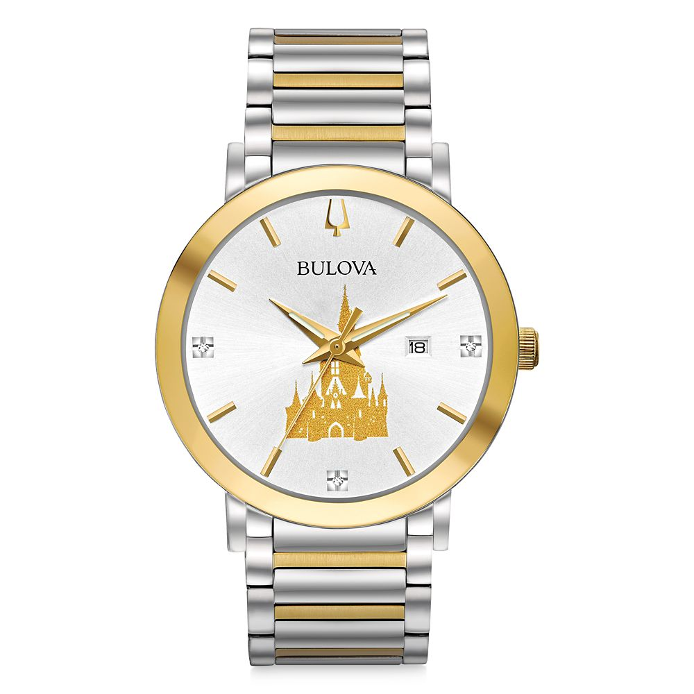 Cinderella Castle Watch for Men by Bulova – Walt Disney World