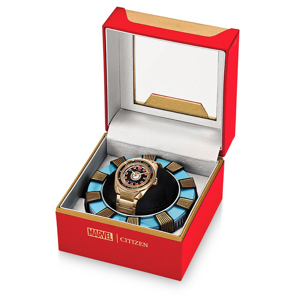 Tony Stark Eco-Drive Watch for Adults by Citizen – Avengers Endgame – Limited Edition