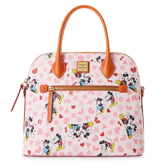 Mickey and Minnie Mouse Love Dooney & Bourke Satchel