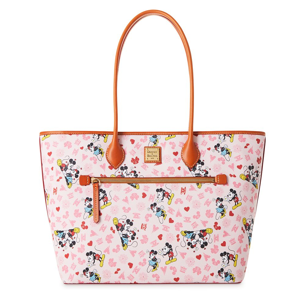 Mickey and Minnie Mouse Love Dooney & Bourke Tote Official shopDisney