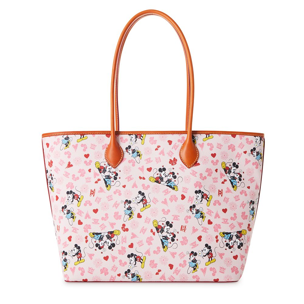 Mickey and Minnie Mouse Love Dooney & Bourke Tote