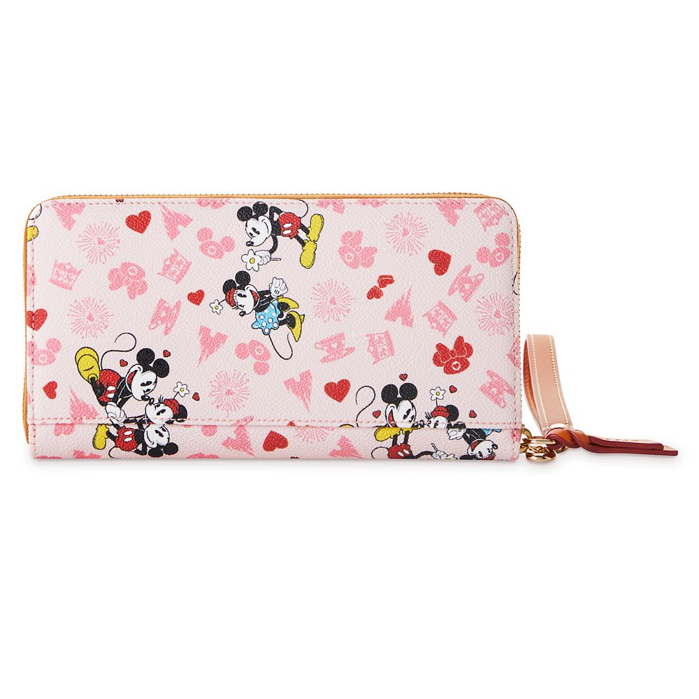 Mickey and Minnie Mouse Love Dooney & Bourke Wristlet Wallet