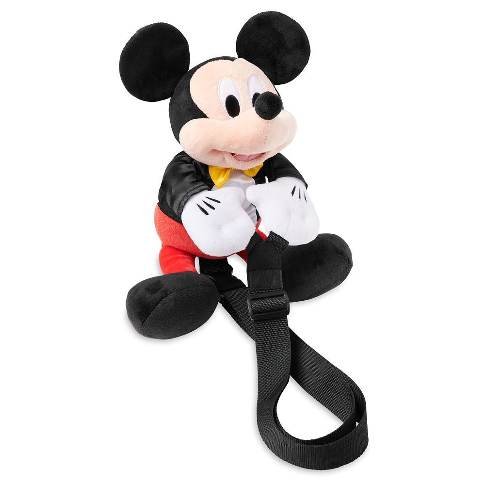 shopdisney.com - Mickey Mouse Plush Backpack Official shopDisney 34.99 USD