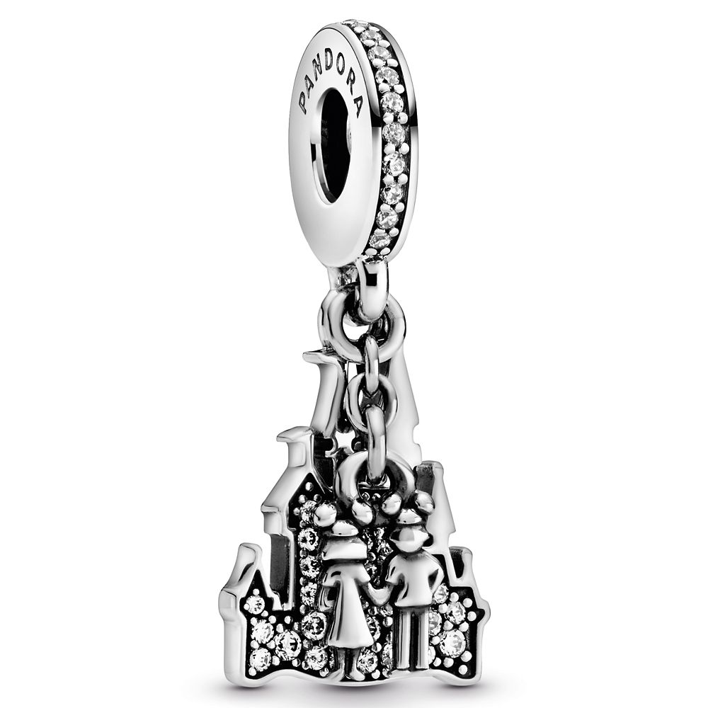 Fantasyland Castle ''Forever'' Charm by Pandora Jewelry