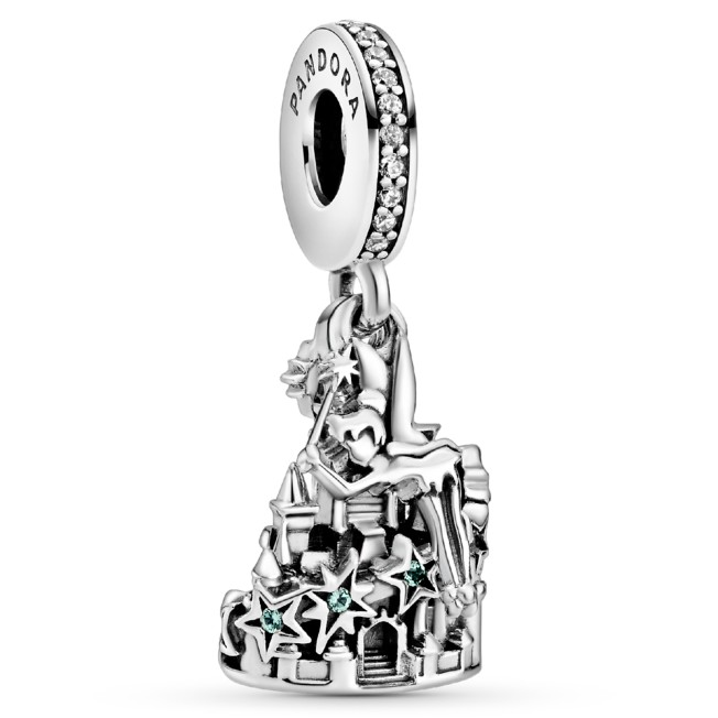 Tinker Bell and Castle Dangle Charm by Pandora Jewelry