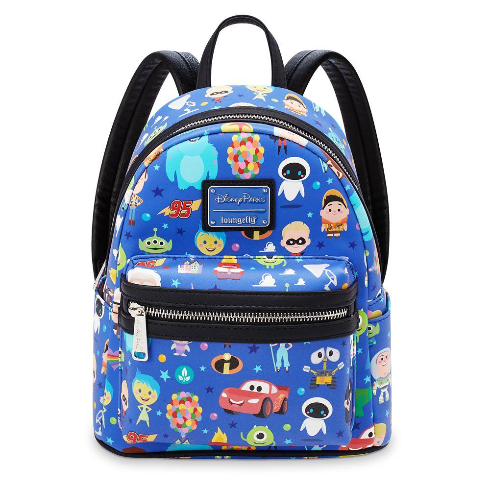 World of Pixar Loungefly Mini Backpack