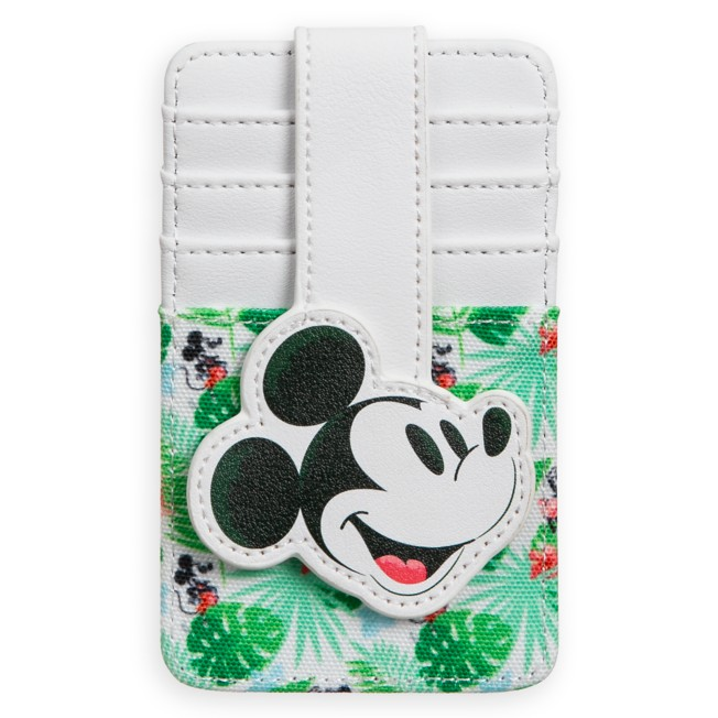 Mickey Mouse Tropical Card Wallet