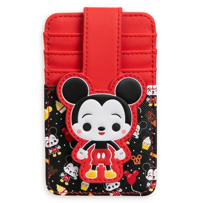Mickey Mouse Disney Parks Food Icons Card Wallet
