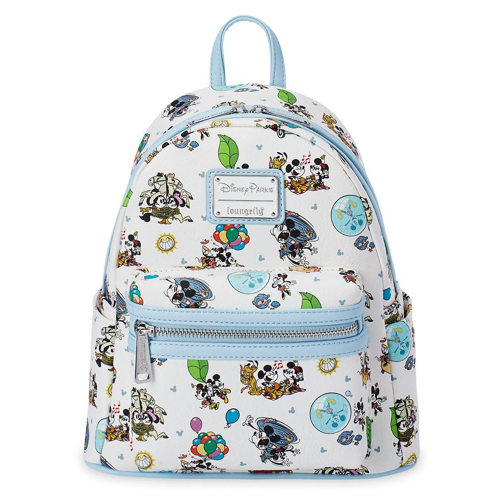 Mickey & Minnie's Runaway Railway Mini Loungefly Backpack Official shopDisney