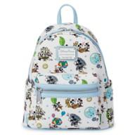 Mickey & Minnie's Runaway Railway Mini Loungefly Backpack