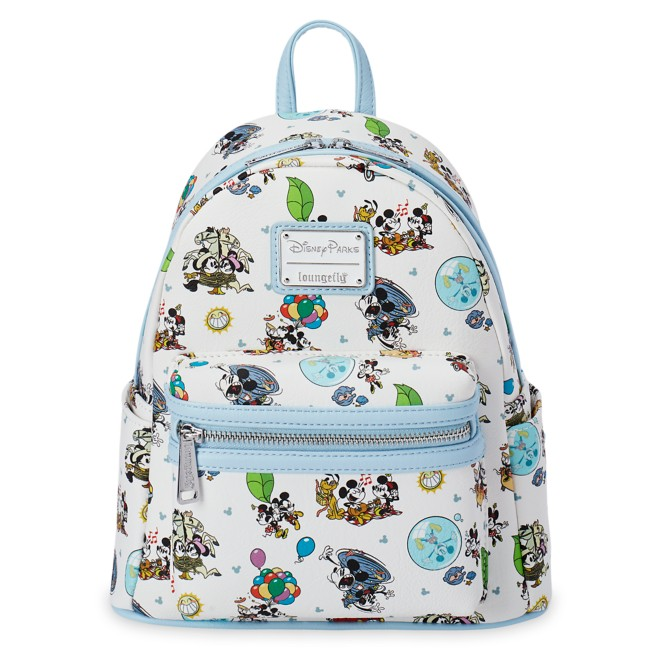 Mickey & Minnie's Runaway Railway Mini Loungefly Backpack