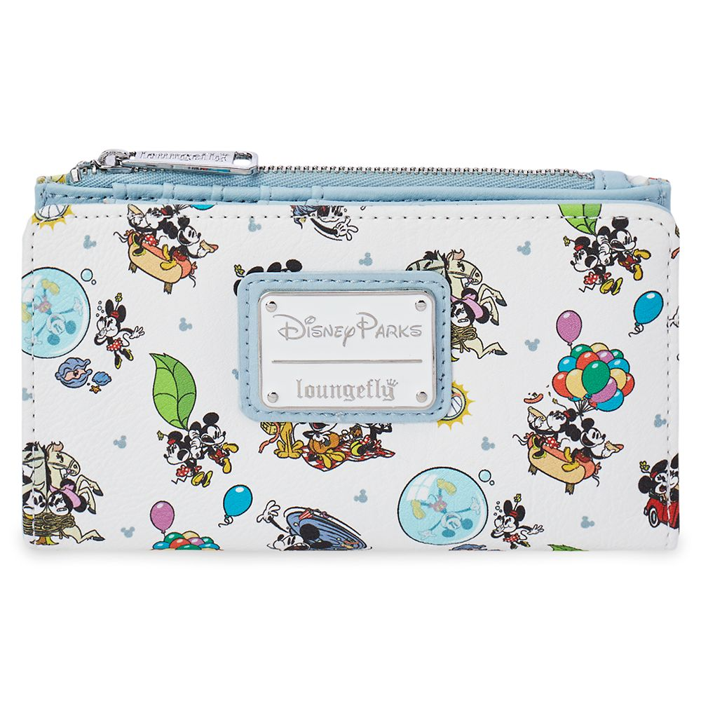 Mickey & Minnie's Runaway Railway Loungefly Wallet Official shopDisney