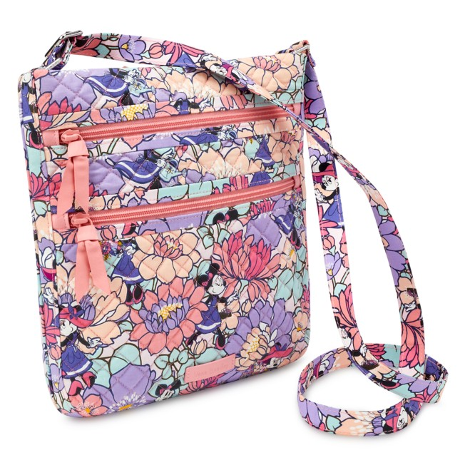 Minnie Mouse Garden Party Triple Zip Hipster Bag by Vera Bradley
