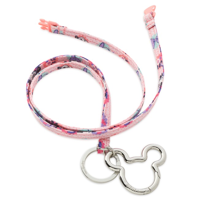 Minnie Mouse Garden Party Lanyard by Vera Bradley