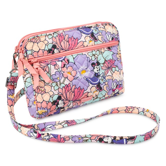 Minnie Mouse Garden Party Triple Compartment Crossbody Bag by Vera Bradley