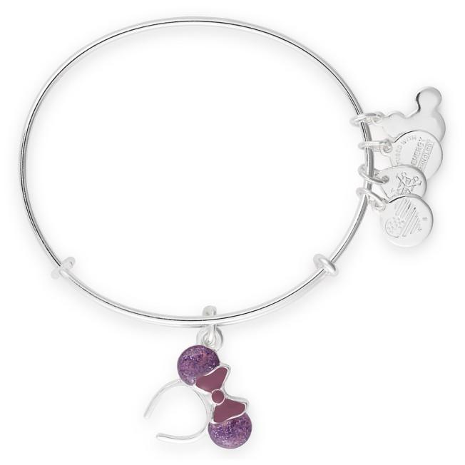 Minnie Mouse Ear Headband Bangle by Alex and Ani – Purple
