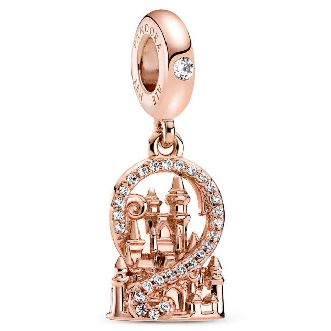 Fantasyland Castle Charm by Pandora Jewelry – Rose Gold