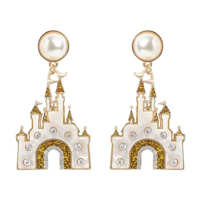 Fantasyland Castle Earrings by BaubleBar