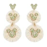 Mickey Icon Raffia Earrings by BaubleBar
