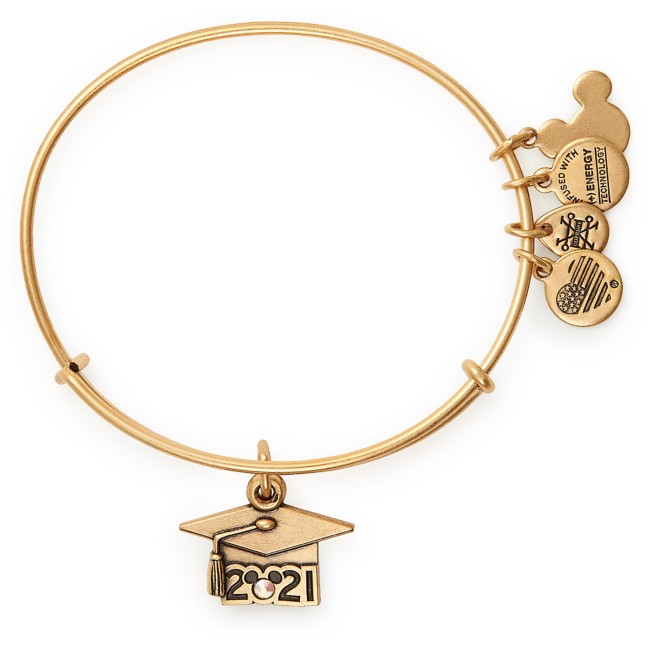Mickey Mouse 2021 Graduation Hat Bangle by Alex and Ani