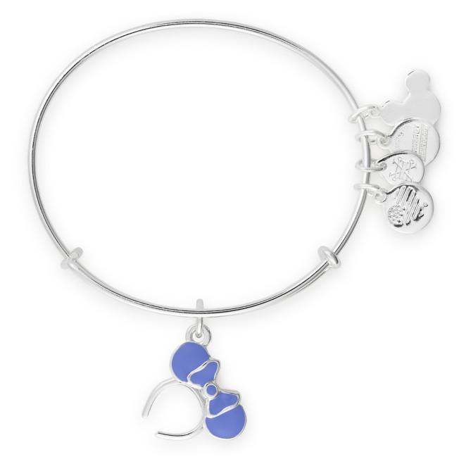 Minnie Mouse Ear Headband Bangle by Alex and Ani – Light Blue
