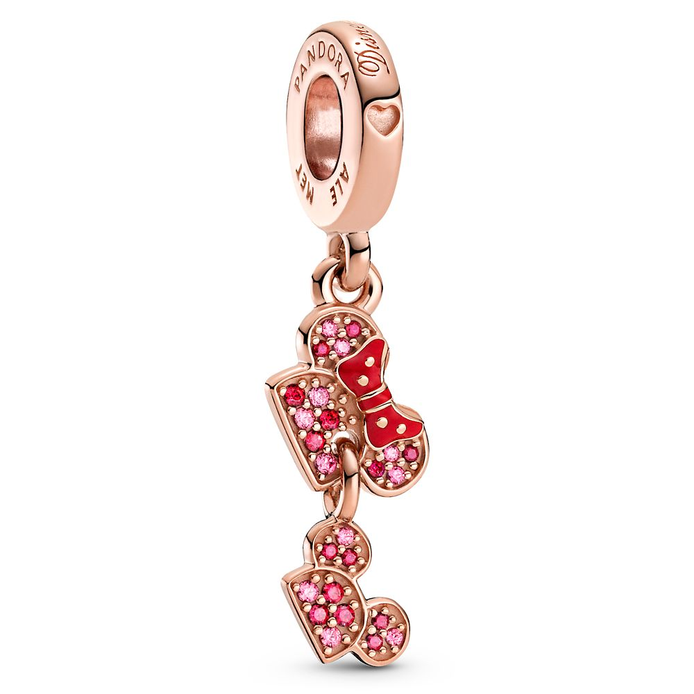 Minnie And Mickey Mouse Mother S Day Ear Hat Charm By Pandora Jewelry Shopdisney