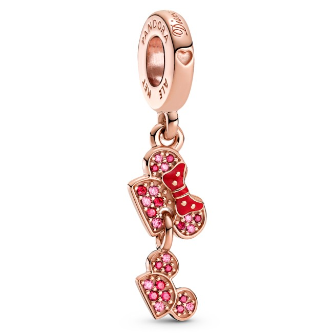 Minnie and Mickey Mouse Mother's Day Ear Hat Charm by Pandora Jewelry