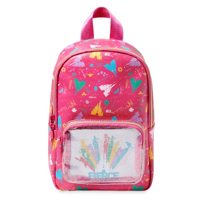 Disney Princess Mini Backpack with Pouch for Kids