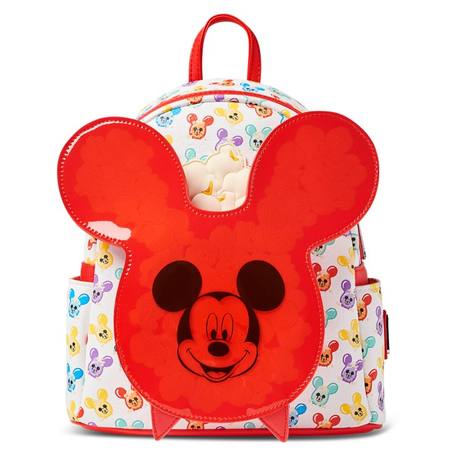 Mickey Mouse Balloon Popcorn Loungefly Mini Backpack