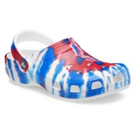 Mickey Mouse Tie-Dye Americana Clogs for Adults by Crocs