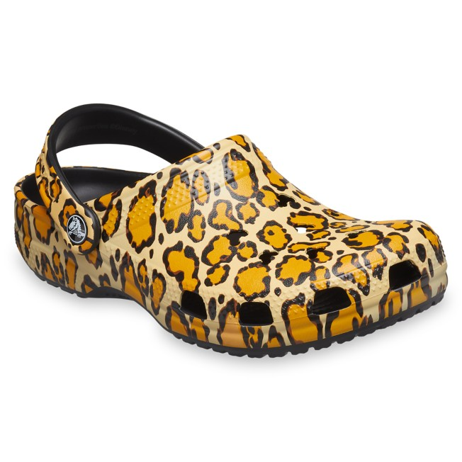 Mickey Mouse Animal Print Clogs for Adults by Crocs