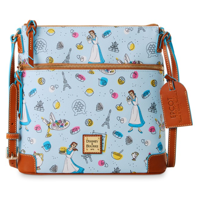 Beauty and the Beast Dooney & Bourke Letter Carrier Bag – Epcot International Food & Wine Festival 2021