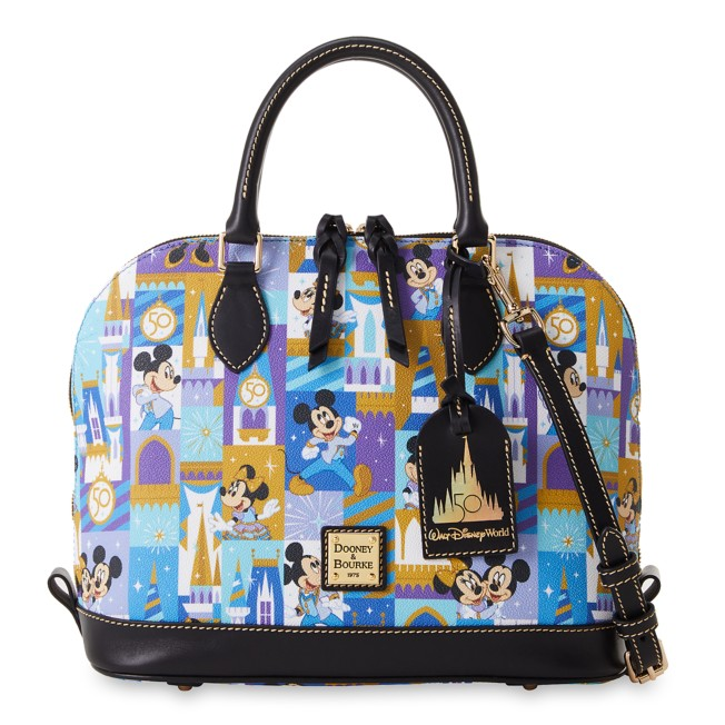 Mickey and Minnie Mouse Dooney & Bourke Satchel – Walt Disney World 50th Anniversary