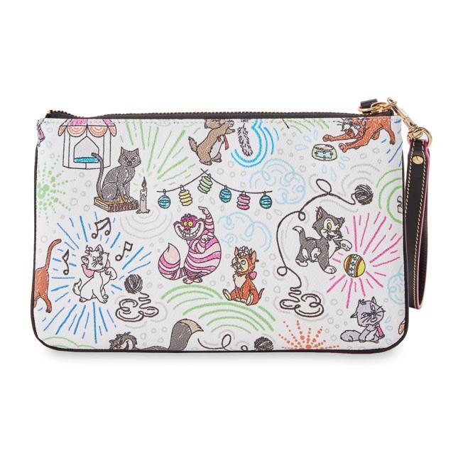 Disney Cats Sketch Dooney & Bourke Wristlet Wallet