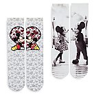Mickey and Minnie Mouse Socks for Women - 2-Pack