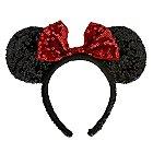 Minnie Mouse Ears Headband - Sequined