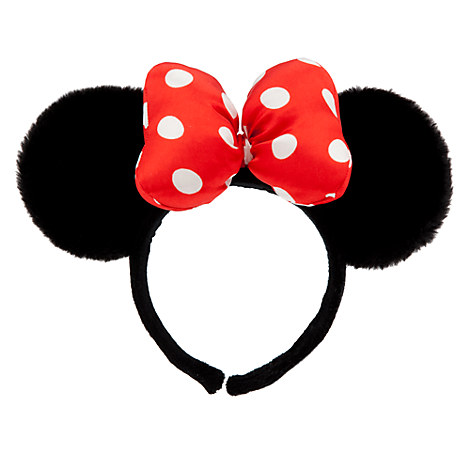 Minnie Mouse Ears Headband - Plush