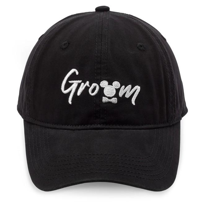 Mickey Mouse Icon Groom Baseball Cap for Adults