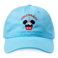 Mickey Mouse Cupcake ''Celebrate'' Baseball Cap for Adults