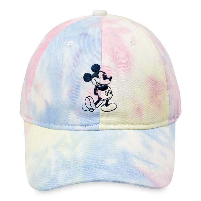 Mickey Mouse Tie-Dye Baseball Cap for Adults