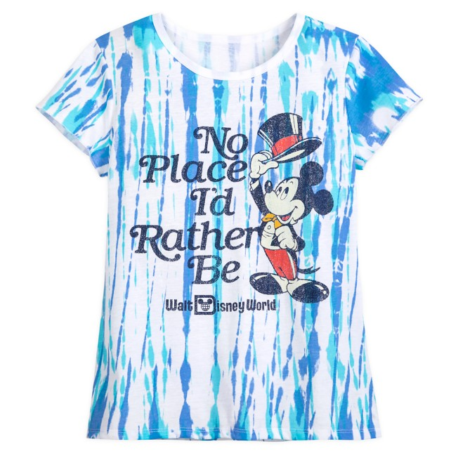 Mickey Mouse ''No Place I'd Rather Be'' T-Shirt for Adults – Walt Disney World
