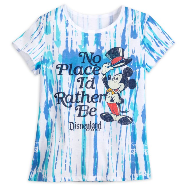 Mickey Mouse ''No Place I'd Rather Be'' T-Shirt for Adults – Disneyland