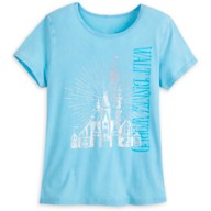 Cinderella Castle Lounge T-Shirt for Women – Walt Disney World