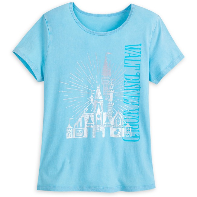 Cinderella Castle Lounge T-Shirt for Women – Walt Disney World