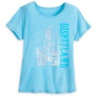 Sleeping Beauty Castle Lounge T-Shirt for Women – Disneyland