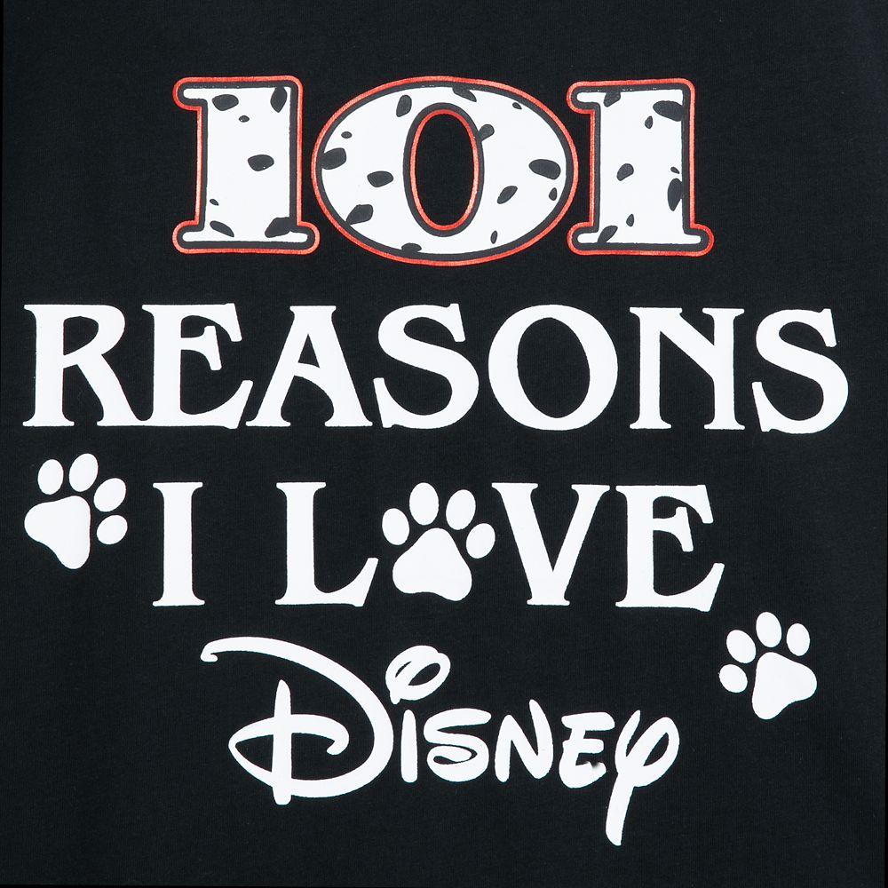 101 Dalmatians ''Reasons I Love Disney'' T-Shirt for Adults