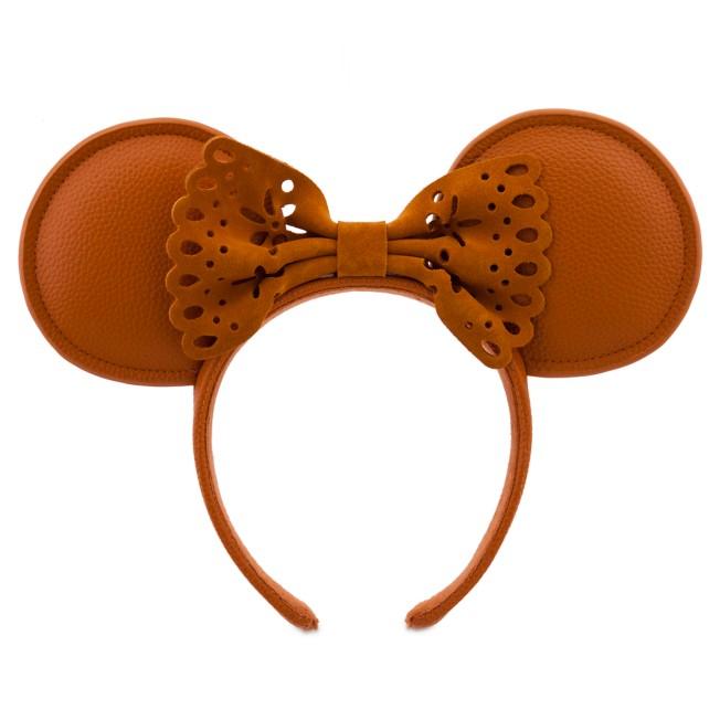 Minnie Mouse Faux Leather Ear Headband