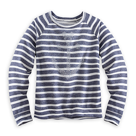 Disney Cruise Line Striped Sweatshirt for Women