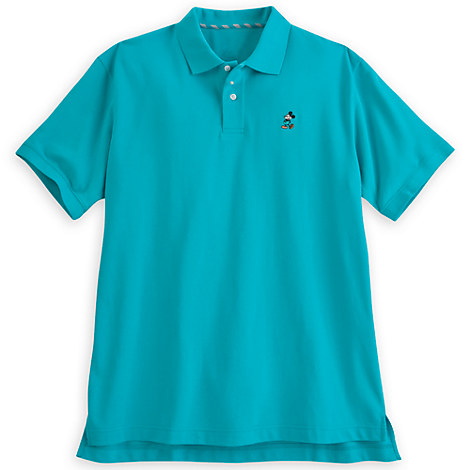 Mickey Mouse Polo for Men - Teal